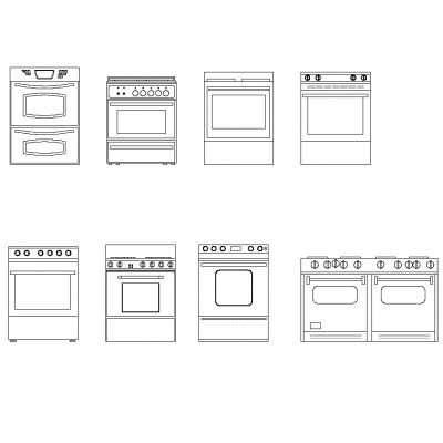 Cucina in dwg | BlocchiAutocad.it