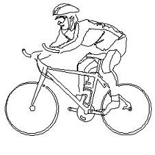 Blocco Cad di Ciclista, biker in dwg