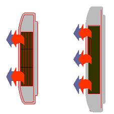 Blocco Cad di Radiatore fan coil, climatizzatore in dwg