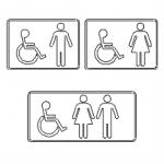 Cartelli per bagno